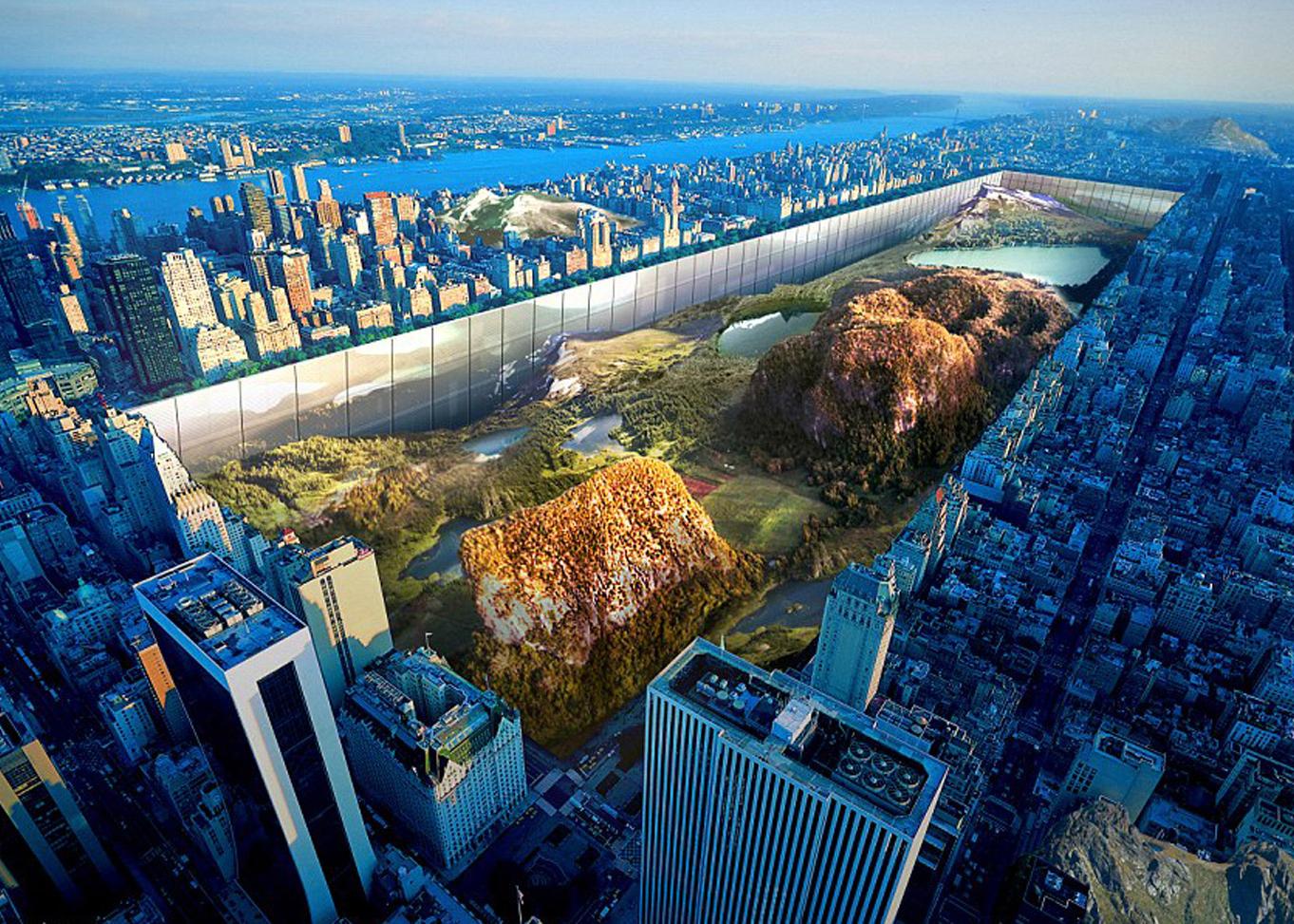 Конкурс за небостъргач в Манхатън, сентръл парк